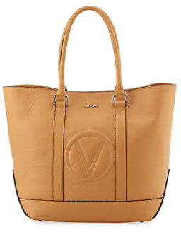 Mario Valentino Valentino By Faith Dollaro Leather Tote Bag