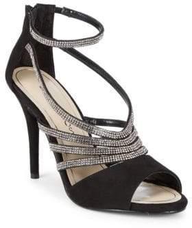 Caparros Judith Suede Stiletto Sandals