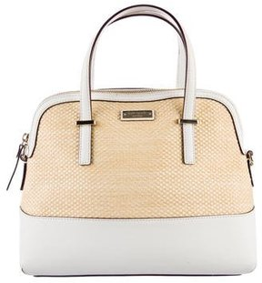 Kate Spade New York Cedar Street Straw Maise Satchel