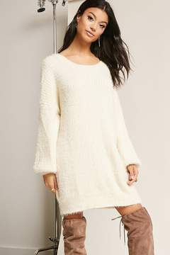 Forever 21 Fuzzy Knit Dress