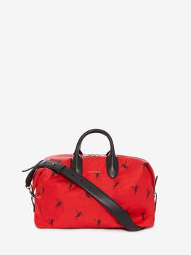 Alexander McQueen Dancing Skeleton Medium Holdall