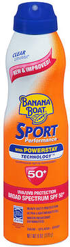 Banana Boat UltraMist Sport Performance Continuous Spray Sunscreen, SPF 50+