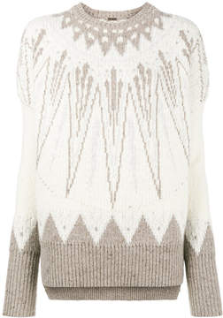 ADAM by Adam Lippes Fair Isle chunky sweater