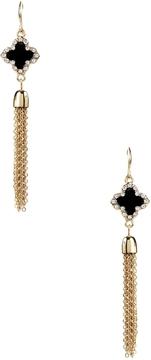 Amrita Singh Women's Clover Tassel Earrings