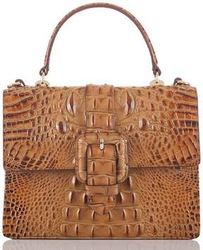 Brahmin Toasted Almond Collection Mini Francine Satchel
