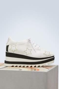Stella McCartney Elyse wedge derby shoes