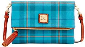 Dooney & Bourke Tiverton Foldover Zip Crossbody Shoulder Bag - GREY - STYLE
