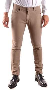 Stone Island Men's Beige Cotton Pants.