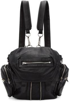 Alexander Wang Black and Silver Mini Marti Backpack