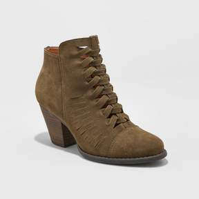 Mossimo Women's Aubree Braided Booties