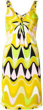 Emilio Pucci patterned fitted dress