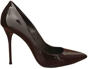 Gianmarco Lorenzi Patent leather heels