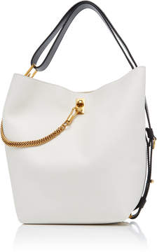 Givenchy GV Medium Chain-Trimmed Leather Tote