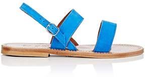 K. Jacques Women's Barigoule Suede Sandals