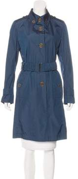 Akris Belted Trench Coat