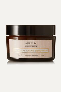 Aurelia Probiotic Skincare - Botanical Cream Deodorant, 50g - Colorless