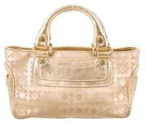 Celine Metallic Mini Boogie Bag