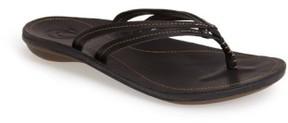 OluKai Women's 'U'I' Thong Sandal