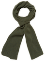 Ribbed Cashmere Long Scarf