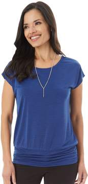 Apt. 9 Women's Strappy Banded Tee