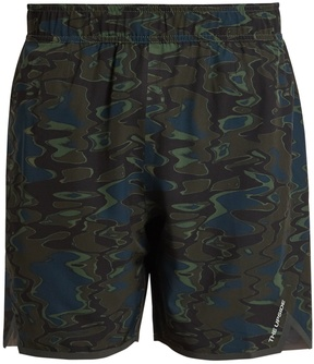 The Upside Welder Trainer 2.0 camouflage-print shorts