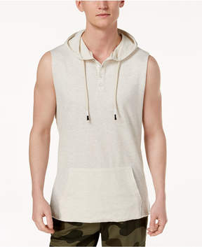 American Rag Men's Sleeveless Henley Hoodie, Created for Macy's