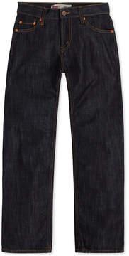 Levi's 514 Straight Fit Jeans, Big Boys Husky (8-20)