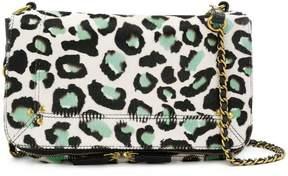 Jerome Dreyfuss Bobi leopard print shoulder bag