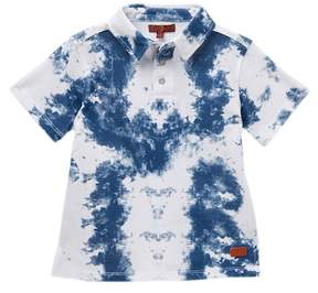 7 For All Mankind Tie Dye Polo (Little Boys)