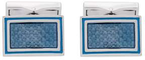 Canali square embellished cufflinks