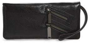 Rebecca Minkoff Women's Leather Wallet - Black - BLACK - STYLE