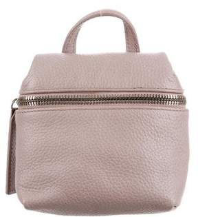 Kara Mini Leather Crossbody Bag