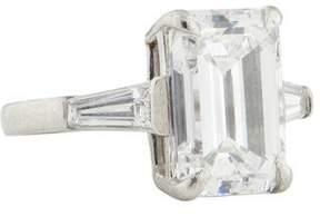 Platinum 5.01ct Diamond Engagement Ring