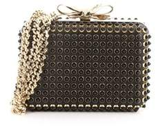 Christian Louboutin Pre-owned: Fiocco Box Cabo Clutch Spiked Leather.