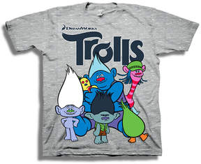 Freeze Toddler Boys Graphic Tees Trolls Graphic T-Shirt-Toddler Boys