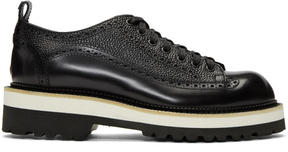 DSQUARED2 Black Leather Brogues