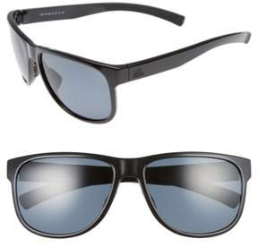 Women's Adidas Sprung 60Mm Sunglasses - Shiny Black/ Grey Polar