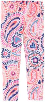Osh Kosh Oshkosh Bgosh Girls 4-12 Print Leggings
