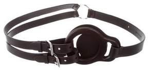Ralph Lauren Leather Buckle Harness
