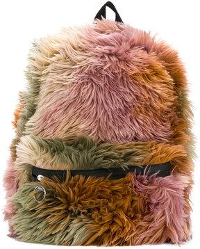 Mm6 Maison Margiela fluffy backpack