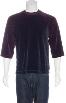 Our Legacy Velvet Raglan T-Shirt w/ Tags