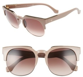 Balenciaga Women's 54Mm Sunglasses - Antique Rose/ Gradient Brown