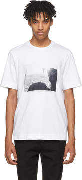 Jil Sander White Mario Sorrenti Edition 002 T-Shirt