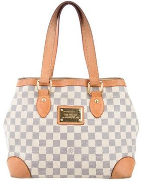 Louis Vuitton Damier Azur Hampstead PM - BLUE - STYLE