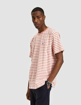 Obey Eighty Nine Solid Box Tee SS Tee in Coral Multi