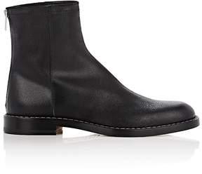 Maison Margiela Men's Leather Back-Zip Boots