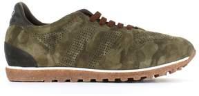 Alberto Fasciani sport 50000 Camouflage Panelled Sneakers