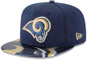 New Era Los Angeles Rams 2017 Draft 9FIFTY Snapback Cap