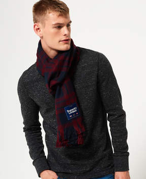 Superdry Capital Check Tassle Scarf