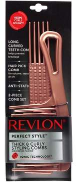 Revlon Perfect Style Thick & Curly Comb Set 2 Pc.
